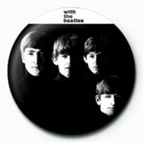Beatles (The) - With The Beatles (25mm Button Badge)