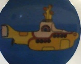 Beatles (The) - Yellow Submarine (38mm Button Badge)