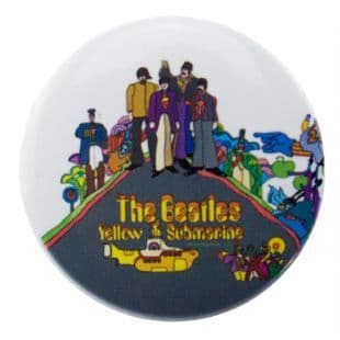 Beatles (The) - Yellow Submarine Cast (38mm Button Badge)