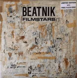 "Beatnik Filmstars ‎- Laid Back And English (LP + 7"" Flexi) (EX+/EX+)"