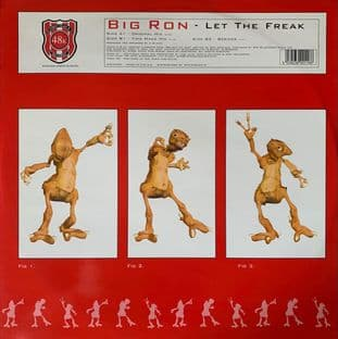 "Big Ron ‎- Let The Freak (12"") (VG/VG)"