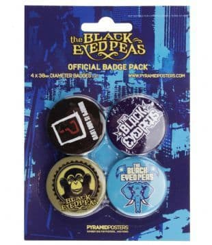 Black Eyed Peas (The) - Official Button Badge Pack