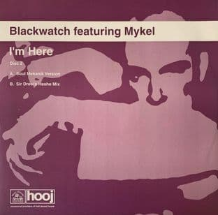 "Blackwatch ft Mykel ‎- I'm Here (Disc 2) (12"") (EX/VG-)"