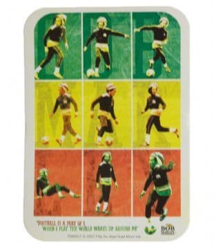 Bob Marley - Football Is A Part Of I (Sticker)