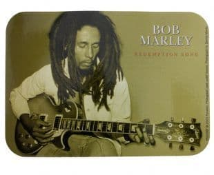 Bob Marley Redemption Song Horizontal (Sticker)