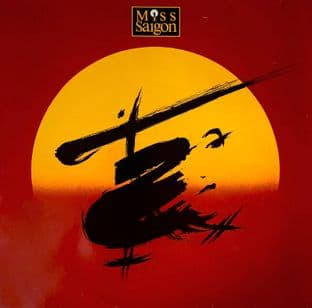 Boublil & Schonberg ‎- Miss Saigon: Original London Cast Recording (LP) (VG/G++)