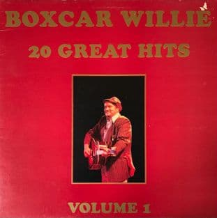 Boxcar Willie ‎- 20 Great Hits Volume 1 (LP) (VG/G++)
