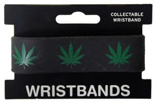 Cannabis - Rubber Wristband