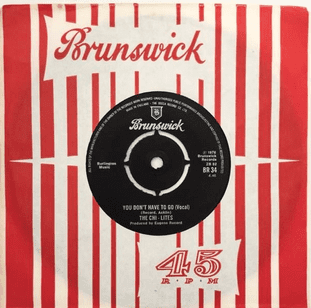 """Chi-Lites (The) - You Don't Have To Go (7"""") (VG/VG)"""
