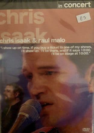 Chris Isaak & Raul Malo - In Concert (1) (DVD)
