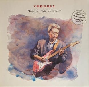 Chris Rea ‎- Dancing With Strangers (LP) (G-VG/VG)