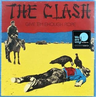 Clash (The) - Give 'Em Enough Rope (LP) (M/M) (Sealed)