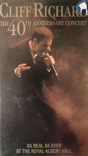 Cliff Richard - The 40th Anniversary Concert (VHS)