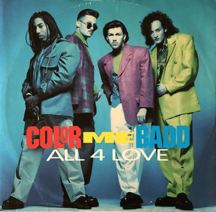 """Color Me Badd - All 4 Love (12"""") (VG/G+)"""