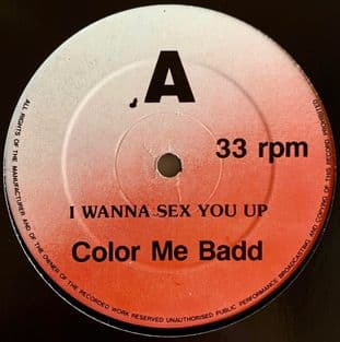 """Color Me Badd - I Wanna Sex You Up (12"""") (G-/NM)"""