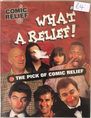 Comic Relief - What A Relief: The Pick Of Comic Relief (Cassette Audio Book, Abridged)