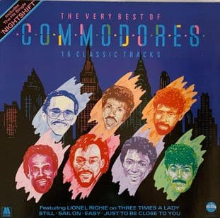 Commodores - The Very Best Of Commodores (VG-/VG)