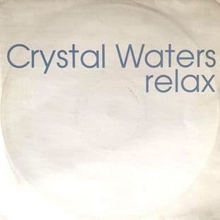 "Crystal Waters ‎- Relax (12"") (Promo) (VG-/G++)"
