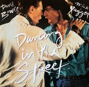 """David Bowie And Mick Jagger - Dancing In The Street (12"""") (G++/G-VG)"""