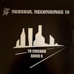 "David K ‎- Yo Chicago (12"") (VG/G+)"