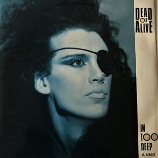 "Dead Or Alive ‎- In Too Deep (7"") (VG-/G-VG)"