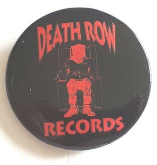 Death Row Records - (25mm Button Badge)