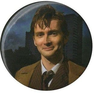 Dr Who - David Tennant - (38nn Button Badge)