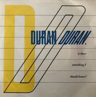 Duran Duran ‎- Is There Something I Should Know?  (7'') (G-VG/VG)