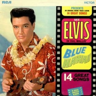 Elvis Presley - Blue Hawaii (Original Soundtrack) (LP) (VG+/VG)