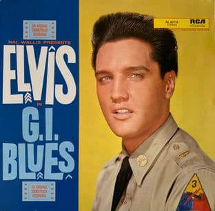 Elvis Presley - G.I. Blues (Original Soundtrack) (LP) (VG-/G++)