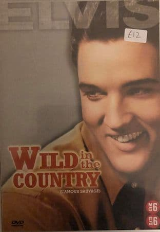 Elvis Presley - Wild In The Country (DVD)