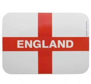England - National Flag: St George's Cross (Sticker)