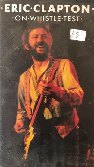 Eric Clapton - On Whistle Test (VHS)