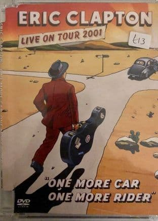 Eric Clapton - One More Car, One More Rider (Live On Tour 2001) (DVD)