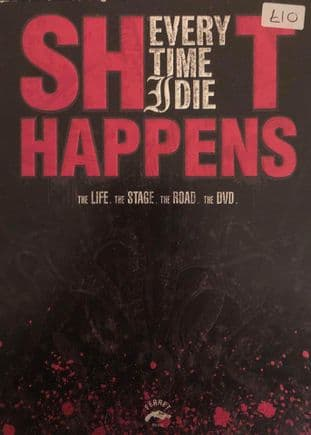 Every Time I Die - Shit Happens (DVD)