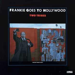 "Frankie Goes To Hollywood ‎- Two Tribes (12"") (EX-/EX-)"