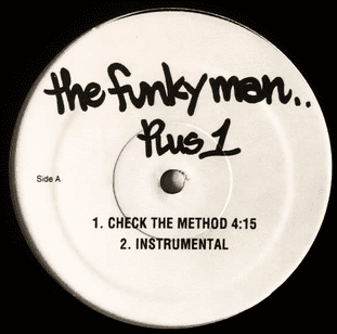 """Funky Man (The) - Check The Method/Do Your Thing (12"""") (Promo) (VG/VG-)"""