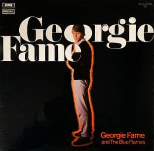 Georgie Fame And The Blue Flames  - Georgie Fame (LP) (G++/VG-)