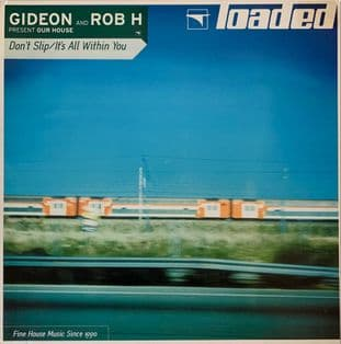 "Gideon And Rob H ‎- Our House EP (12"") (EX-/G-VG)"
