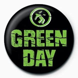 Green Day - (25mm Button Badge)