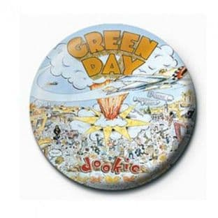 Green Day - (25mm Button Badge) (3)