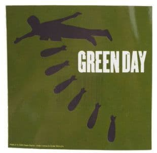 Green Day - Bombs (Sticker)