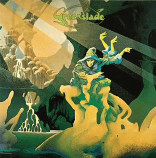 Greenslade ‎- Greenslade (LP) (EX/VG-)