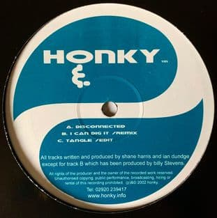 """Honky - Disconnected (12"""") (G+/VG)"""