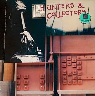 "Hunters & Collectors ‎- Hunters & Collectors (LP + 12"" ) (VG-EX/VG-)"