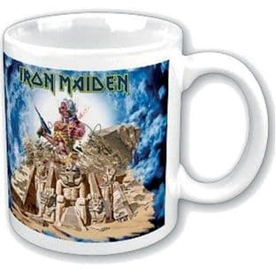IRON MAIDEN BOXED STANDARD MUG: SOMEWHERE BACK IN TIME - MUG (11oz) (Brand New In Box)