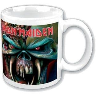 IRON MAIDEN BOXED STANDARD MUG: THE FINAL FRONTIER (11oz) (New/Box)