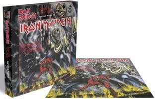 IRON MAIDEN - NUMBER OF THE BEAST - 500 PIECE JIGSAW PUZZLE