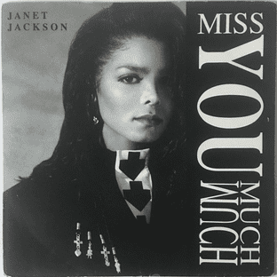 """Janet Jackson - Miss You Much (7"""") (G-VG/G-VG)"""