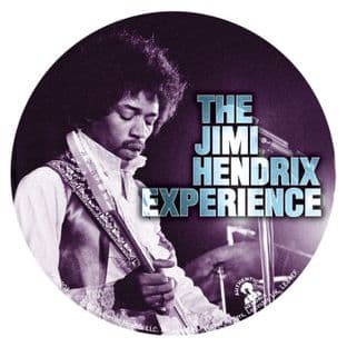 Jimi Hendrix - The Jimi Hendrix Experience (38mm Button Badge)